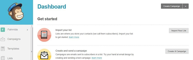 Get into email marketing with MailChimp