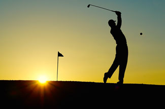 Especially during a fraternity fundraiser benefitting a capital campaign, consider hosting a golf tournament for your donors.