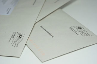 Organize a letter drive to spread the news about your fraternity fundraiser.